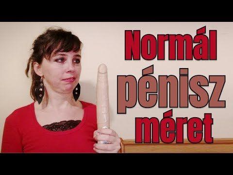 normál méretű péniszek