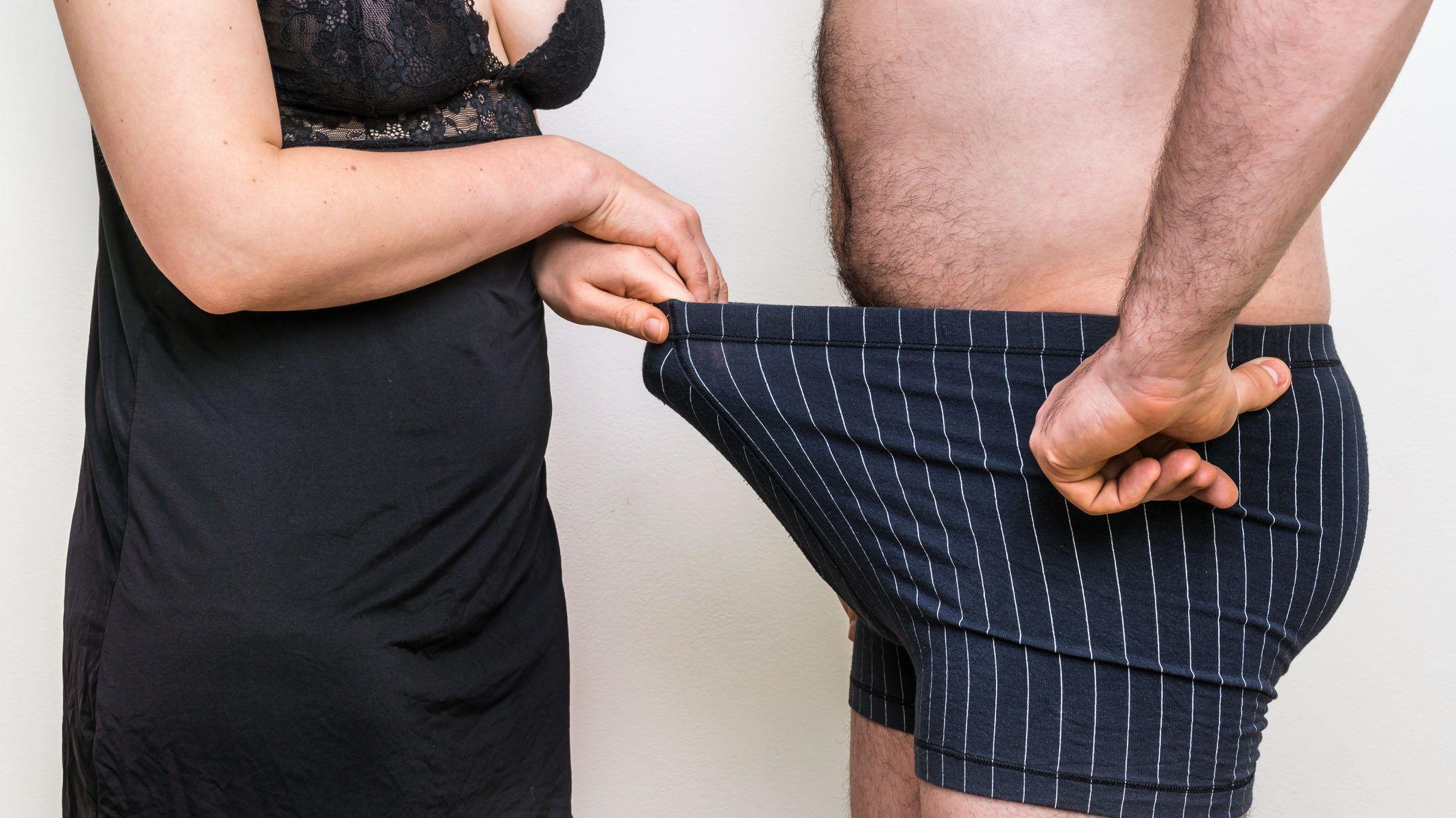 gyors férfi erekció a tag nem hajlik erekció során